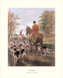 Evening Return to the Kennels Posters by E.a.s. Douglas