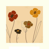 Earth Blooms I Prints by Emily Burrowes