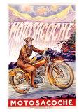 Motosacoche Giclee-vedos
