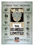 Union Pacific Los Angeles Limited Poster Giclee Print