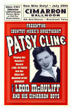 Patsy Cline in Concert, 1961 Art by Dennis Loren