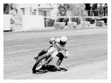 Kenny Roberts 750 Yamaha Flat Track Poster Reproduction procédé giclée par Jerry Smith