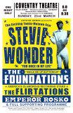 Stevie Wonder in Concert, 1969 Kunst von Dennis Loren