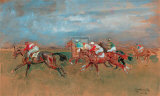 The Start Newmarket Gicleetryck av Lionel Edwards