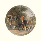 Here Come the Hounds Prints by William Joseph Shayer