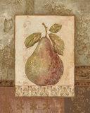 Rustic Pears I Affiche par Pamela Gladding