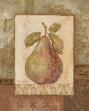 Rustic Pears I Print by Pamela Gladding