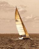 Weekend Sail II Art par Alan Hausenflock