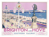 Brighton and Hoveii Giclee Print by Kenneth Shoesmith
