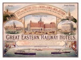 Great Eastern Railway Hotel Poster Giclee Print