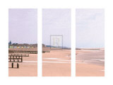 Beach Triptych Prints by Bill Philip