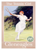 Gleneagles/The Tennis Girl Giclee Print by Septimus Scott