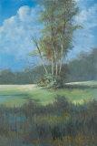 Azure Sky II Prints by Linda Wacaster