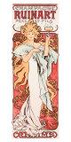 Mucha Champagne Ruinart Poster Giclee Print by Alphonse Mucha