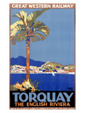 Torquay/Great Western Railway Giclee Print by William A. Sennet