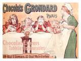 Grondard Chocolate Pudding Poster Giclee Print