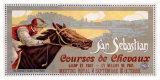 San Sebastian / Courses De Chevaux Giclee Print