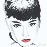 Audrey Posters by Irene Celic