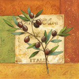 Olives du Midi II Prints by Delphine Corbin