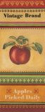 Apples Picked Daily Print by Kimberly Poloson