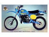 Bultaco Frontera MKII Motorcycle Poster Giclee Print
