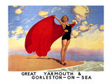 Great Yarmouth & Gorleston-On-Sea Giclee Print by Charles Pears