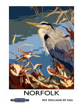 Norfolk, BR Poster, 1948-1965 Giclee Print by Talbot Kelly