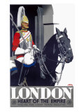 london, Heart of the Empire Giclee Print by Frank Newbould