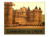 Holyroodhouse, Edinburgh, LNER Poster, 1930 Giclee Print by Fred Taylor