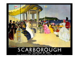 Scarborough, LNER Poster, 1935 Giclee Print by Doris Clare Zinkeisen