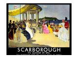 Scarborough, LNER Poster, 1935 Giclee Print by Doris Clare Zinkeisen