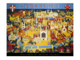 Cambridge, BR Poster, circa 1950s Giclee Print by Kerry Lee