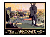 Harrogate, LNER Poster, 1930 Giclee Print by Frank Mason