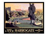Harrogate, LNER Poster, 1930 Giclee Print by Frank Mason