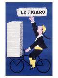 Le Figaro Giclee Print by Raymond Savignac