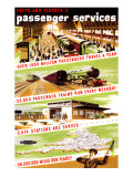 Facts and Figures, No 1, Passenger Services Giclee Print by Longman