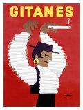 Gitanes Cigarettes ジクレープリント : エルベ・モルバン