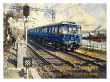Glasgow Electric circa 1960s Giclee Print by Terence Tenison Cuneo