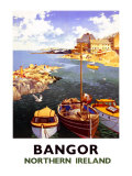 Bangor, Northern Ireland Giclee Print by A.j. Wilson