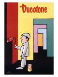 Ducotone Poster Giclee Print by Raymond Savignac