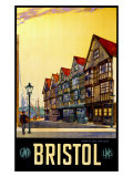 Bristol, Haunt of Long John Silver, Gwr/LMS Poste Giclee Print by Wilhelm Burger