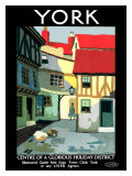 York, LNER Poster, 1924 Giclee Print by Verney L Danvers