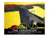 The Coronation, LNER Poster, 1923-1947 Giclee Print by Tom Purvis