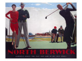 North Berwick, LNER Poster, 1923-1947 Giclee Print by Andrew Johnson