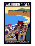Salturn-By-The-Sea, LNER Poster, 1923-1929 Giclee Print by Henry George Gawthorn