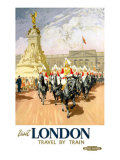 Visit London, BR Poster, 1950s Giclee Print by Gordon Nicoll