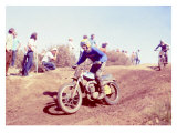 Early Motocross Giclee Print