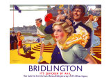 Bridlington: Its Quicker by Rail 1923-1947 Giclee Print by  Greenup