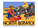 North Berwick, LNER Poster, 1923 Giclee Print by Frank Newbould