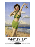 whitley Bay, BR Poster, 1948-1965 Giclee Print by Arthur C Michael